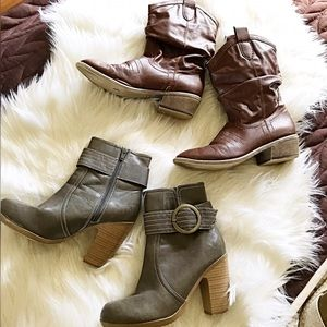 ✨2 Sets of Boots!✨